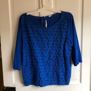 J. Crew Tops - 3/4 length jcrew blouse